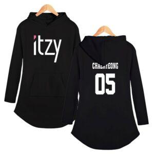 Itzy Hoodie Dress Chaeryeong