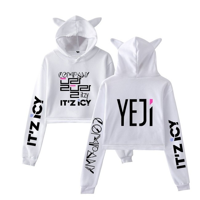 itzy cropped hoodie