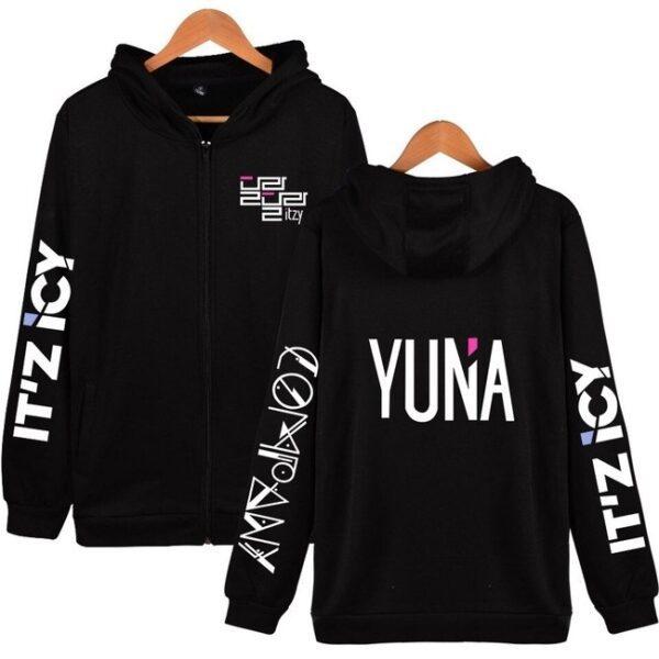itzy yuna hoodie