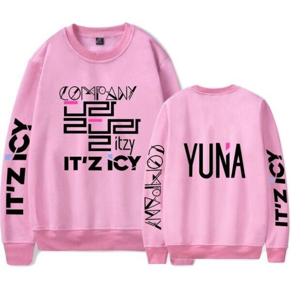 itzy yuna sweatshirt