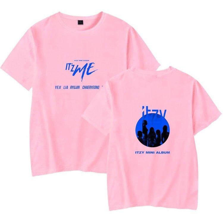 itzy itzme t-shirts