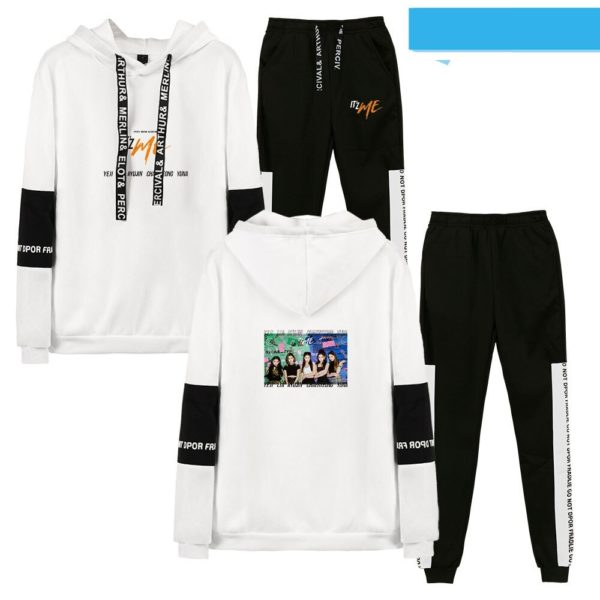 itzy hoodie set