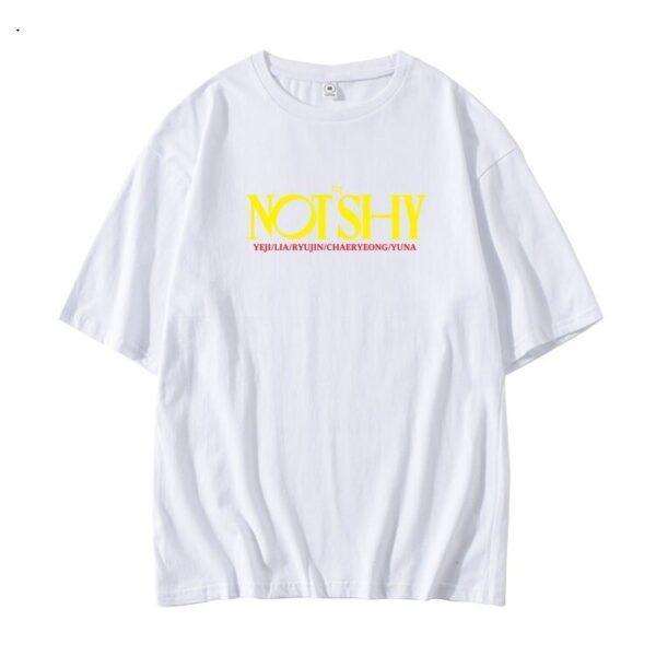 itzy not shy t-shirt