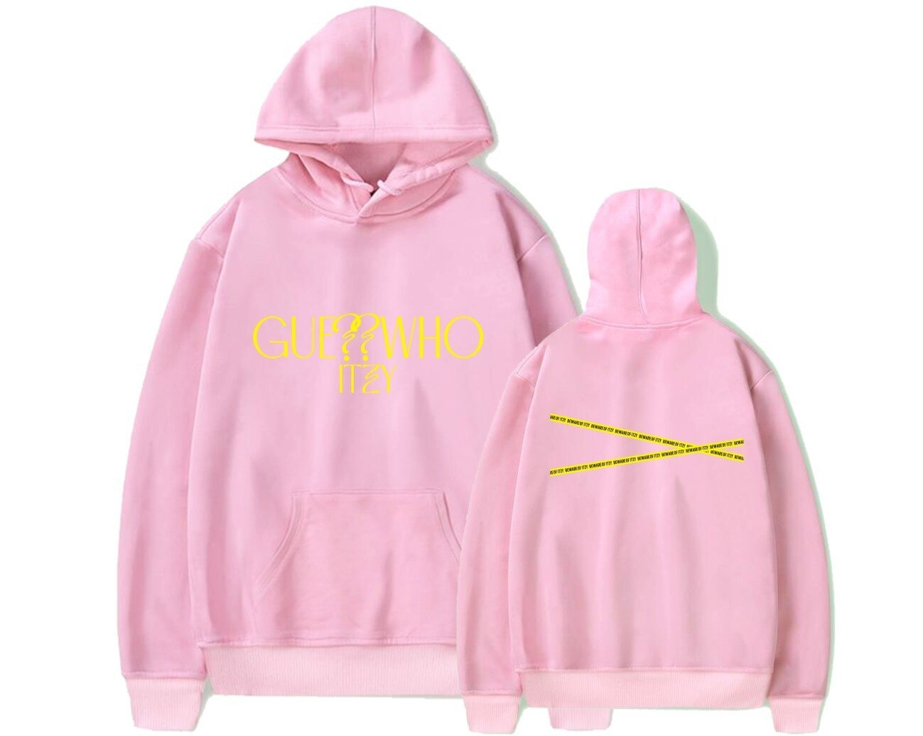 itzy guess who hoodie