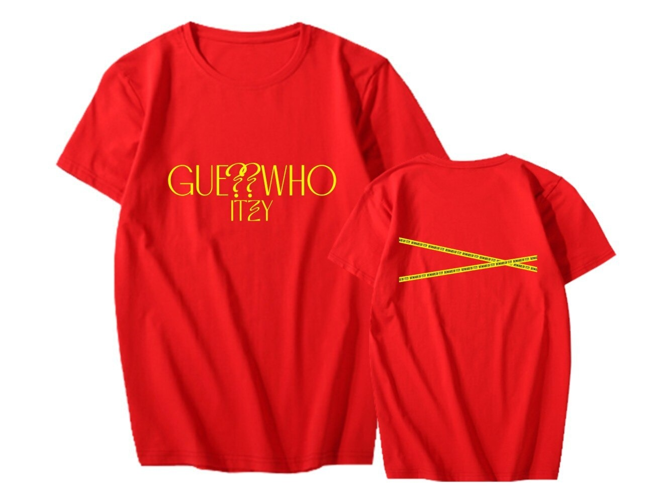itzy guess who t-shirt